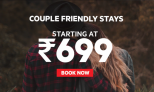 Oyo Rooms Couple Friendly Hotels @ Rs.699 Only