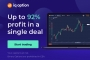 IQ Option – Upto 92% Profit in a Single Deal – Start Trading