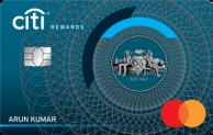 Zero Annual Fee with CitiBank Rewards Credit Card