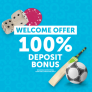 Comeon Casino Offer : Get 100% Deposit Bonus up to Rs.10,000