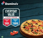 Domino's Pizza Order: Upto 41% Instant Savings – All Users | Order Now