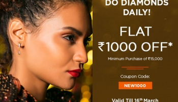 Melorra Diamond Shopping Sale – Extra Rs.1000 Off Coupon Code