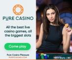 Pure Casino Coupons: Get 100% Bonus on First Deposit