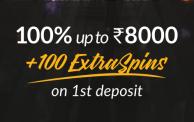 Shadow Bet Casino Offer: 100% Welcome Bonus on 1st Deposit