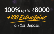Shadow Bet Casino Offer: 100% Welcome Bonus on 1st Deposit